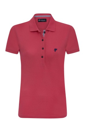 Damen Polo Shirt CORAL