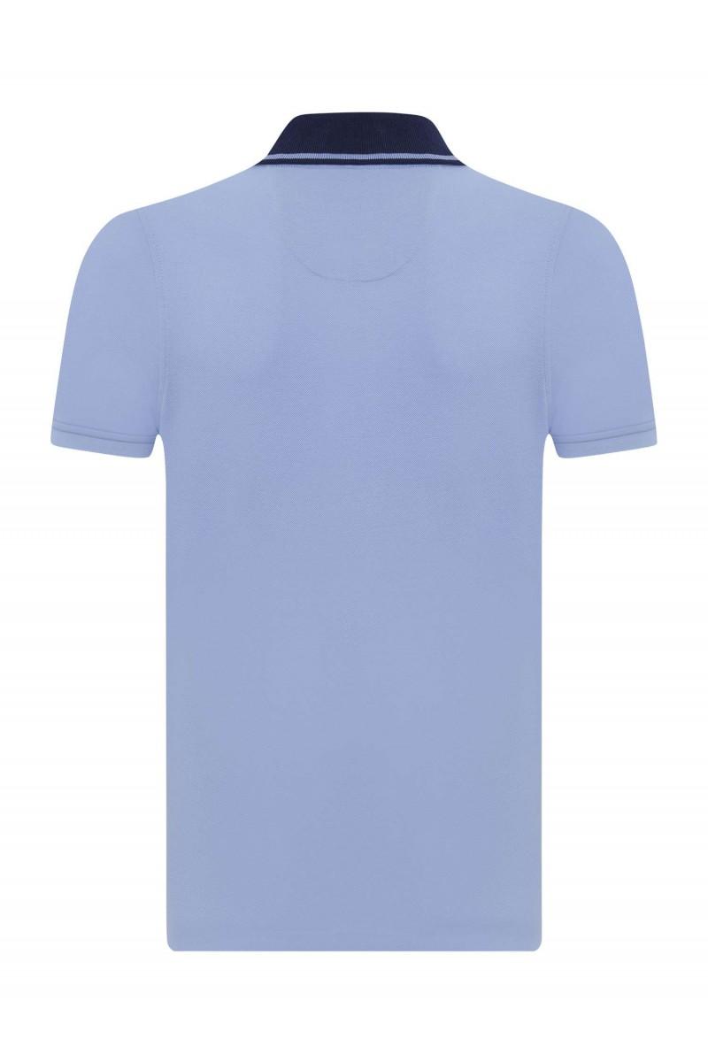 Herren Polo Shirt BLAU-NAVY