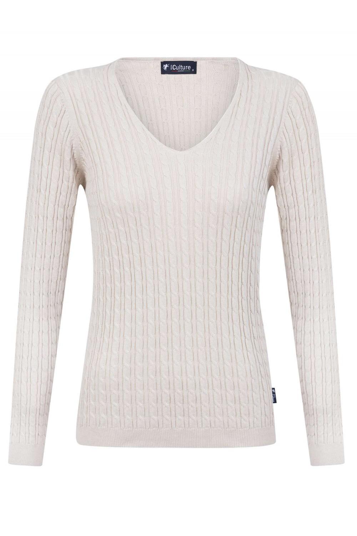 Damen Pullover BEIGE