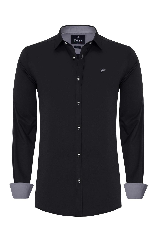 Herren Shirt BLACK
