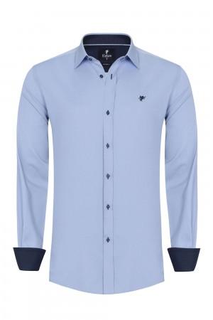 Herren Shirt BLAU