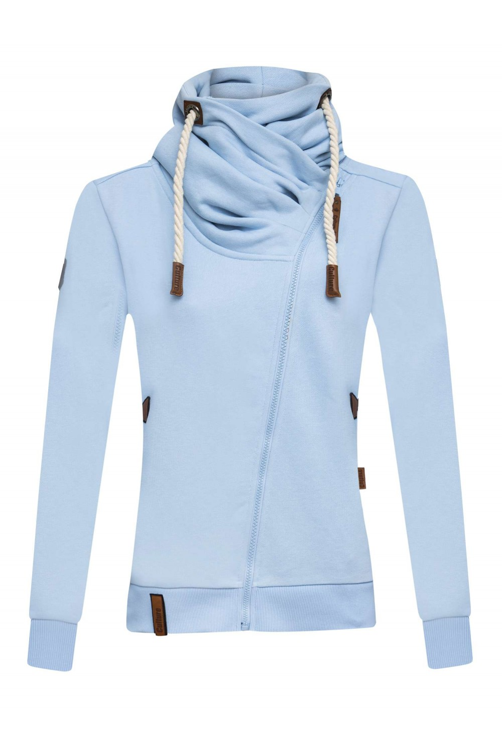 Damen Sweat HELL BLAU