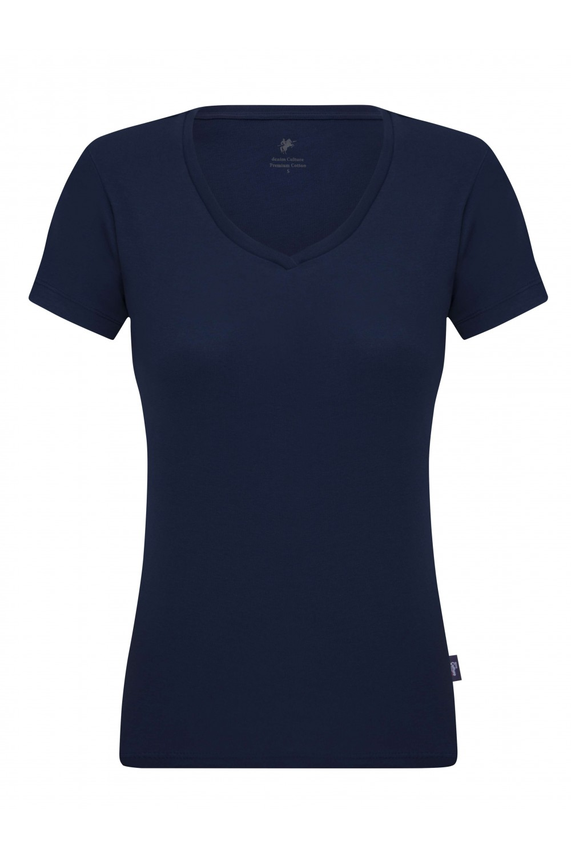 Damen T-Shirt MARINE