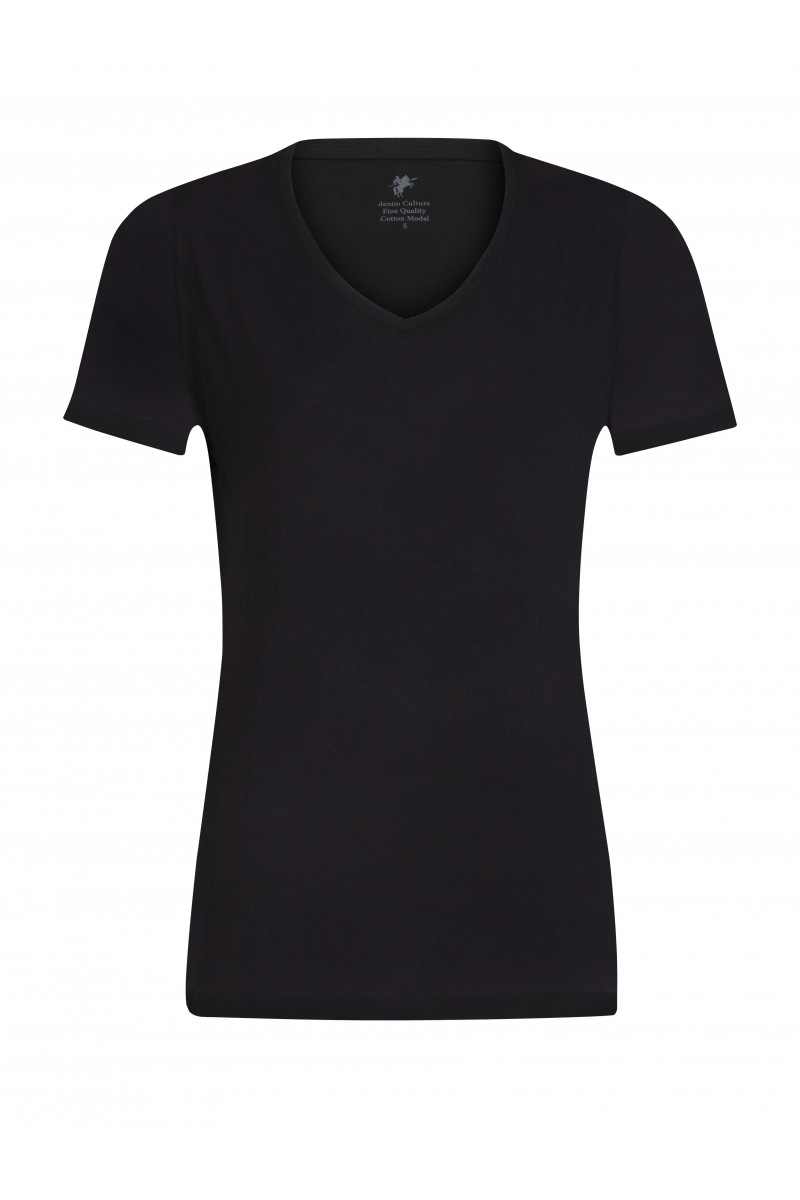 Damen T-Shirt BLACK