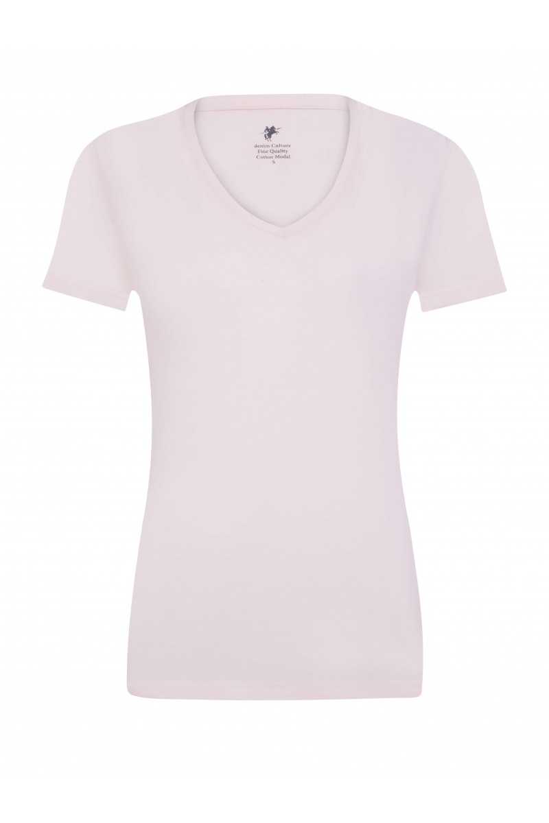 Damen T-Shirt PUDER