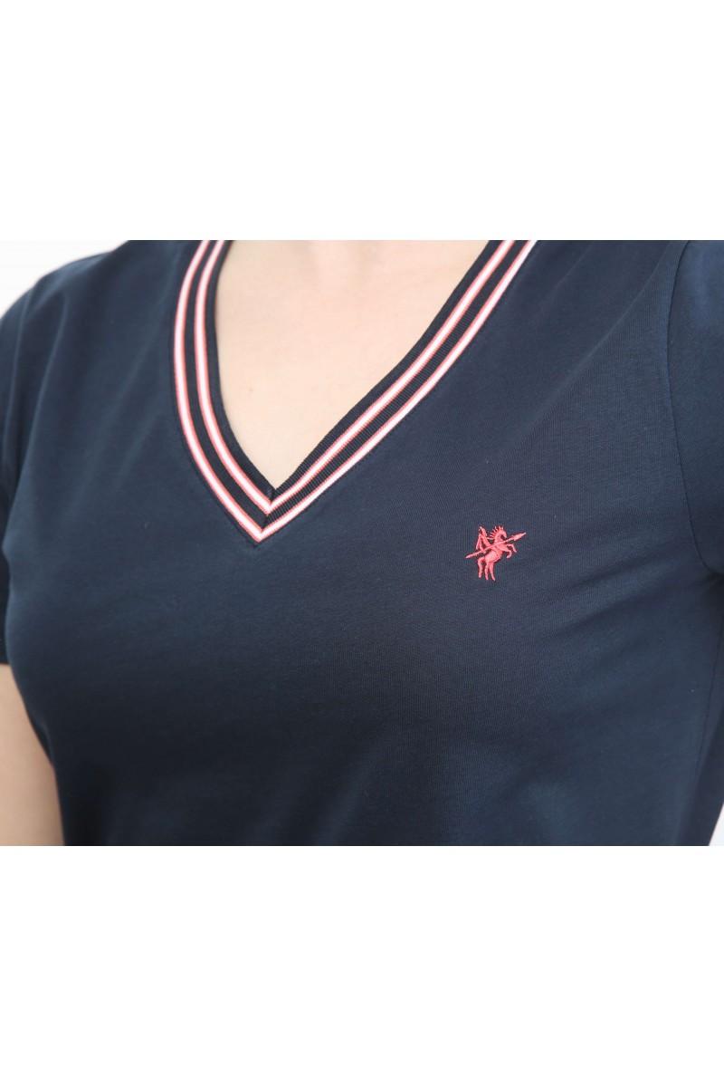 Damen Polo Shirt NAVY