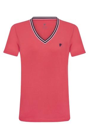 Damen Polo Shirt KORALLE