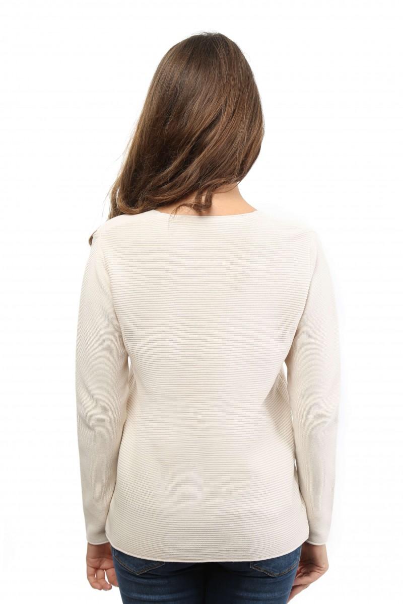 Damen Pullover BEIGE MELANGE