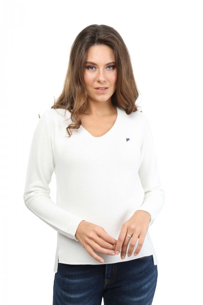 Damen Pullover ECRU
