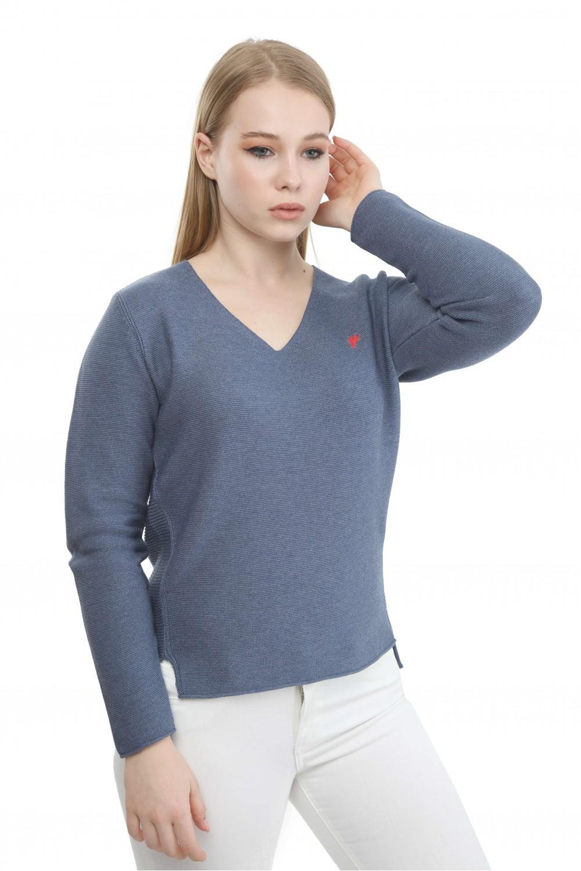 Damen Pullover DENIM MELANGE