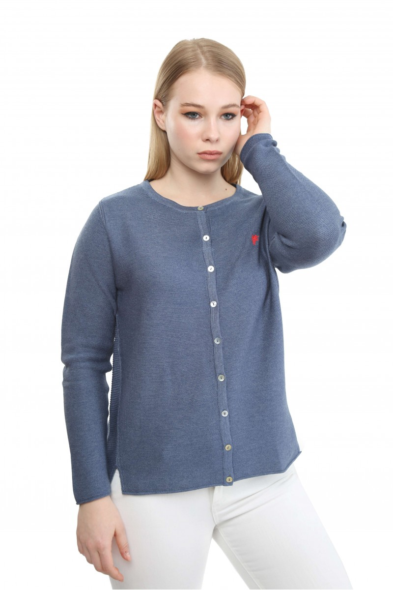 Damen Cardigan DENIM MELANGE