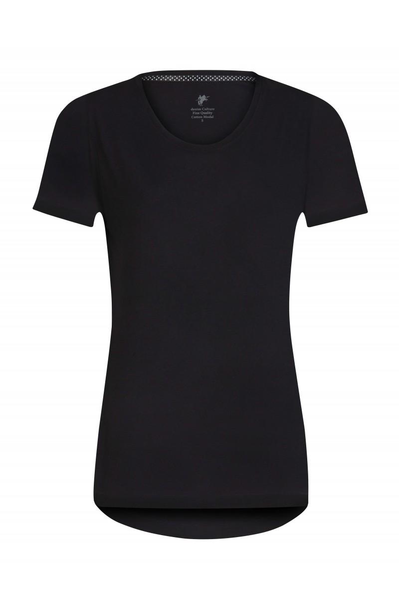 Damen T-Shirt BLACK