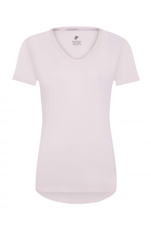 Damen T-Shirt PUDER