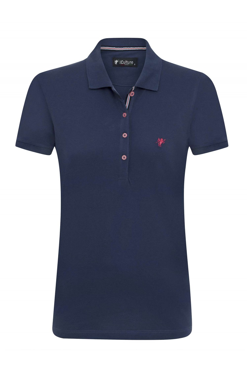 Damen Polo Shirt MARINE