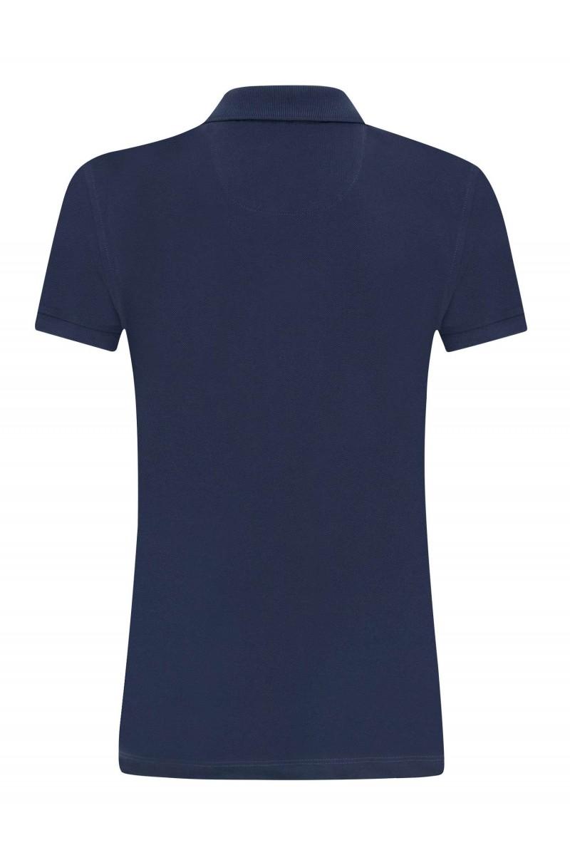 Damen Polo Shirt MARINE