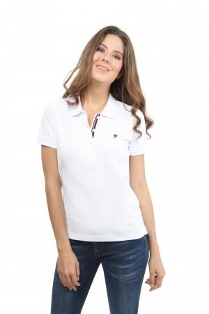 Damen Polo Shirt WEISS