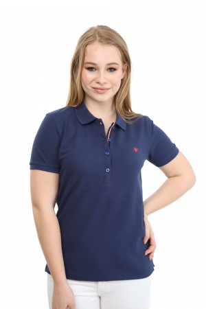 Damen Polo Shirt INDIGO