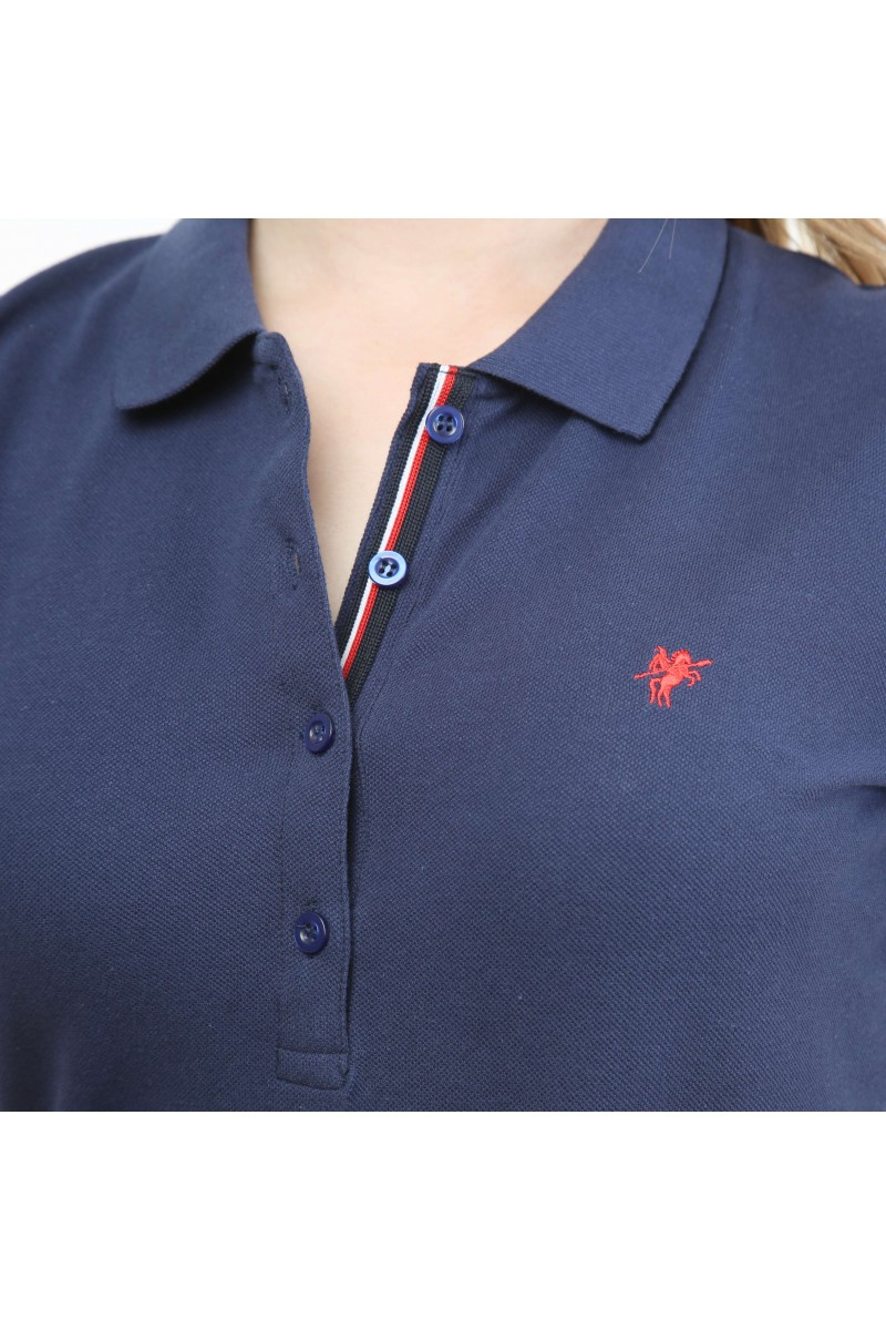 Damen Polo Shirt INDIGO