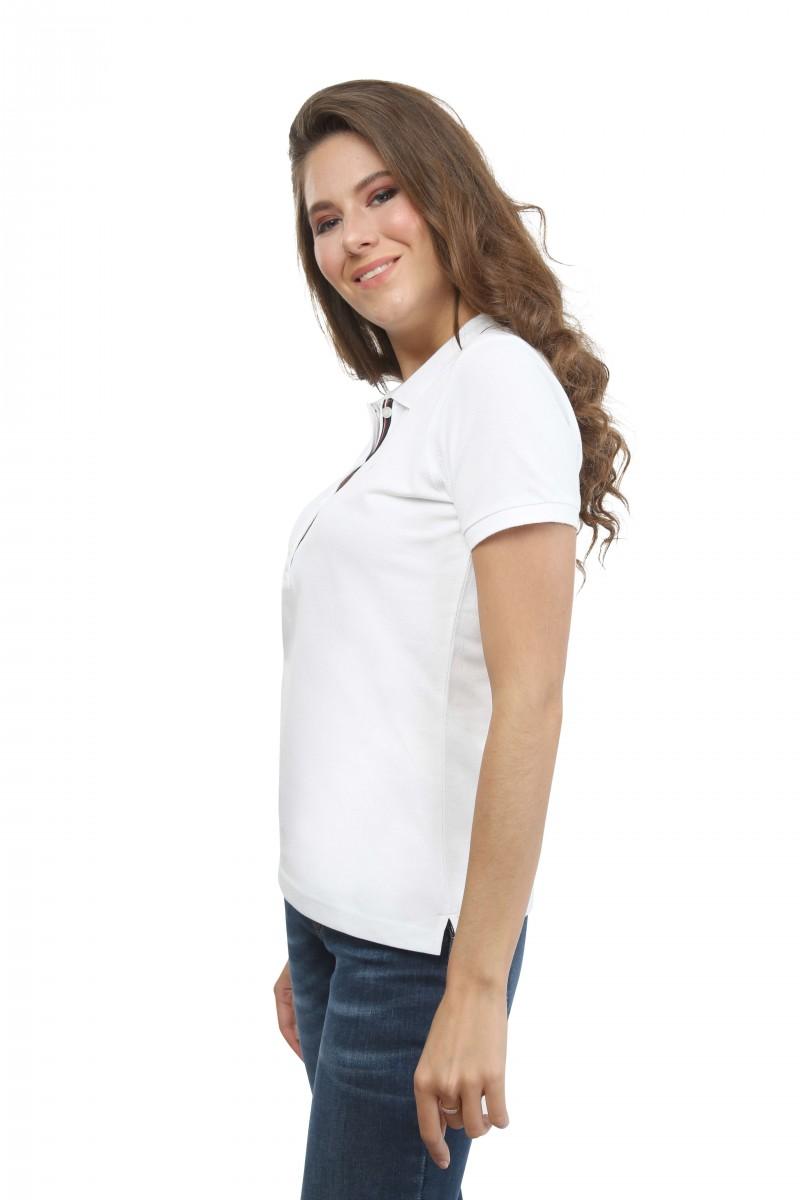 Damen Polo Shirt ECRU