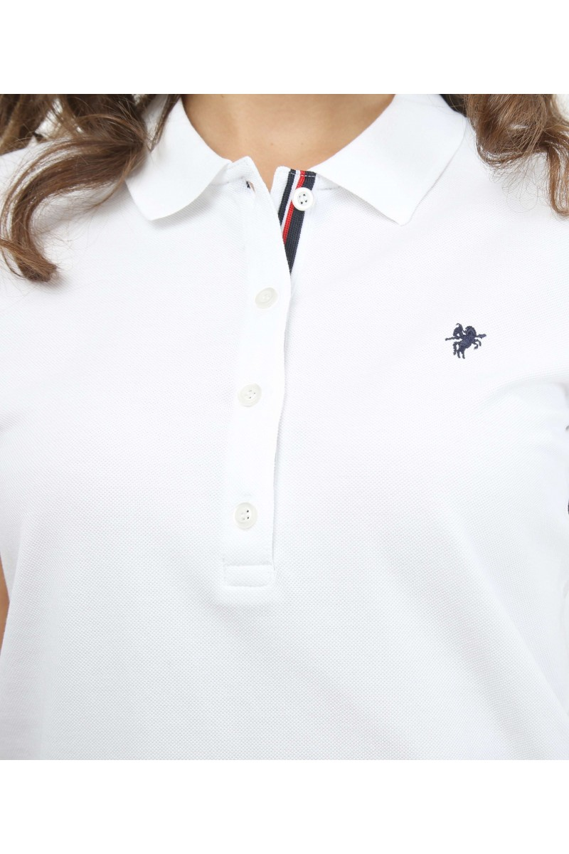 Damen Polo Shirt ECRU