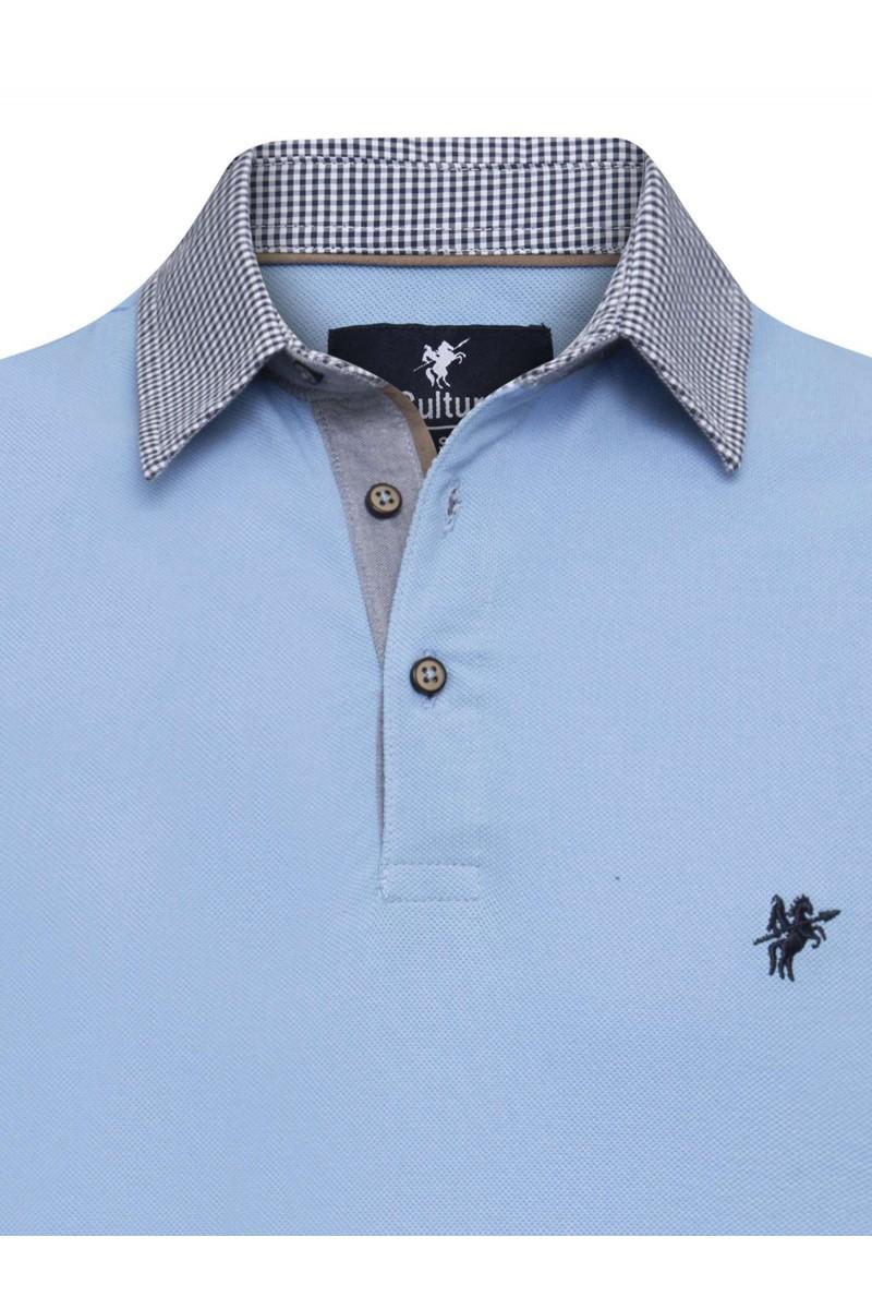 Herren Polo Shirt HELLBLAU