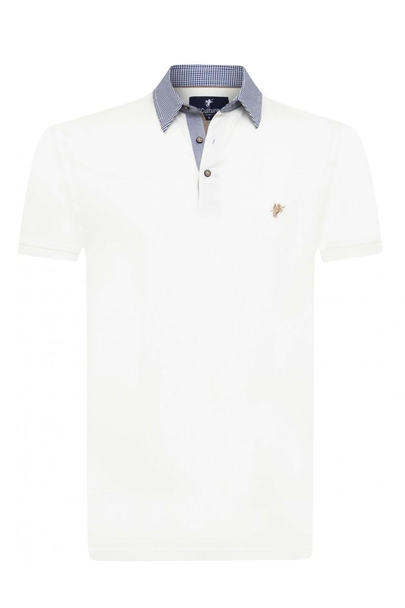 Herren Polo Shirt ECRU