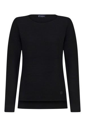 Damen Links pullover BLACK