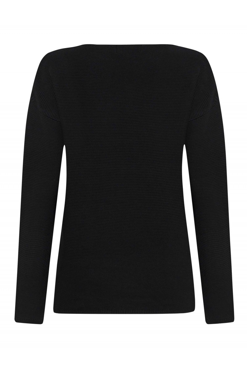 Damen Links pullover BLACK
