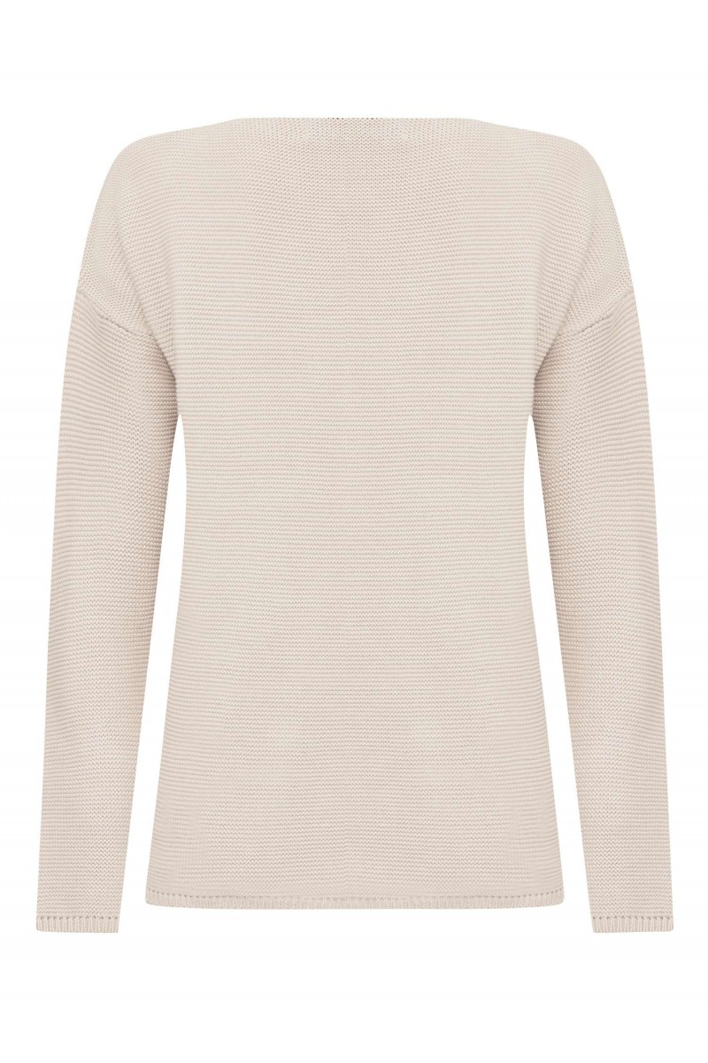 Damen Links pullover BEIGE