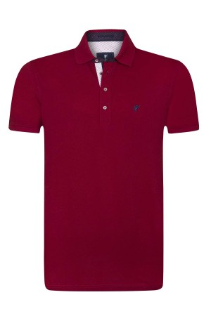 Herren Polo Shirt BORDOAUX