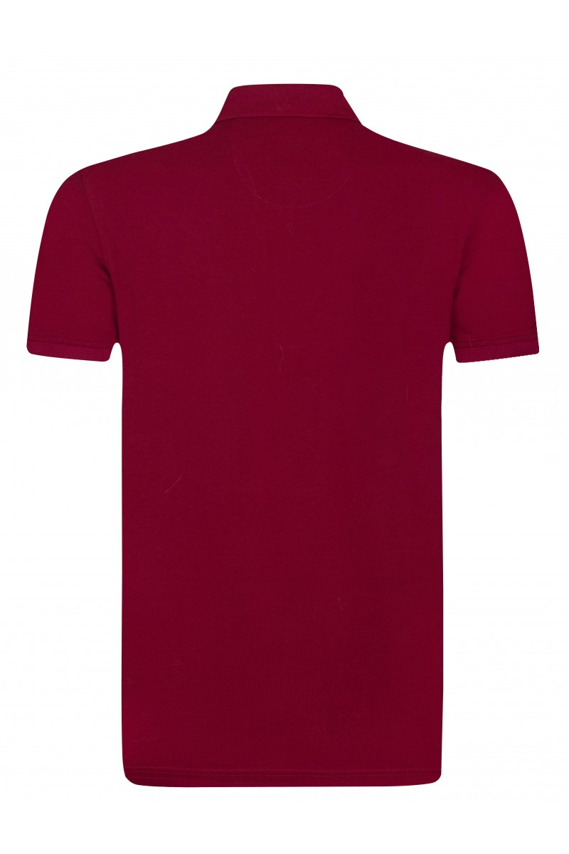 Herren Polo Shirt BORDOAUX