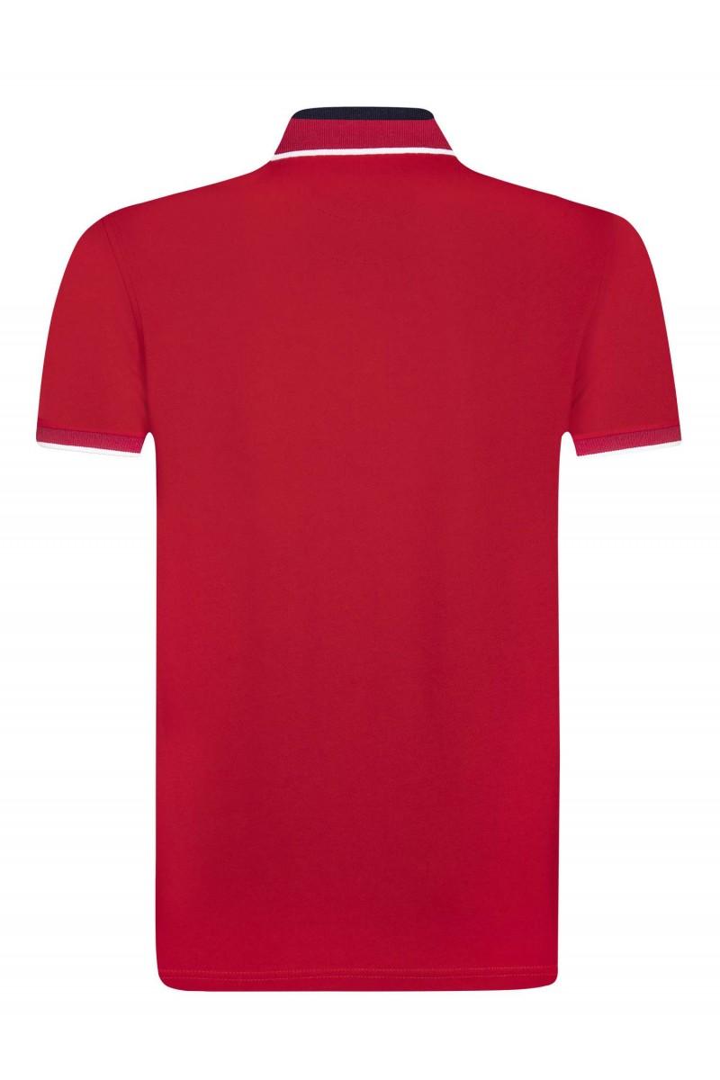 Herren Polo Shirt ROT