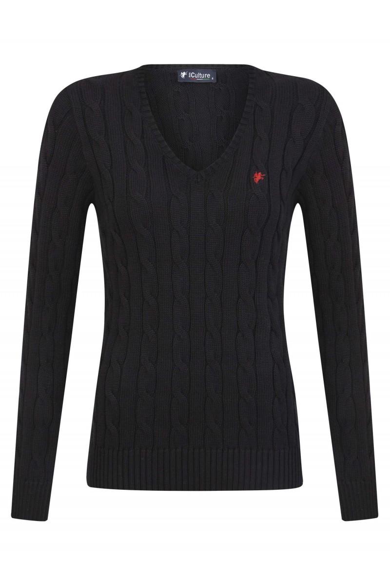 Damen Pullover BLACK