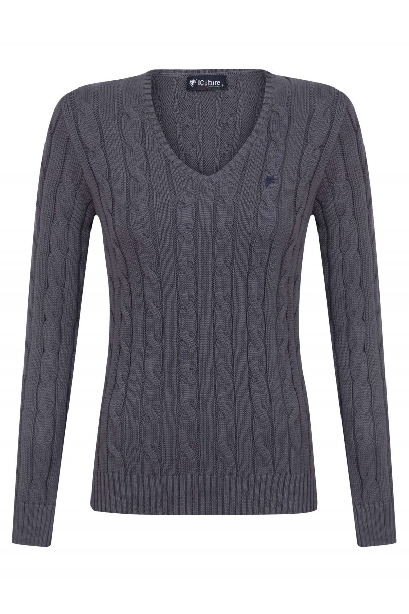 Damen Pullover ANTHRASIT