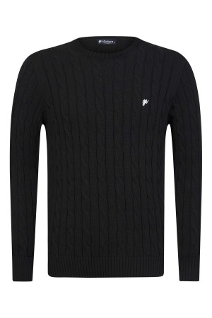 Herren Pullover BLACK