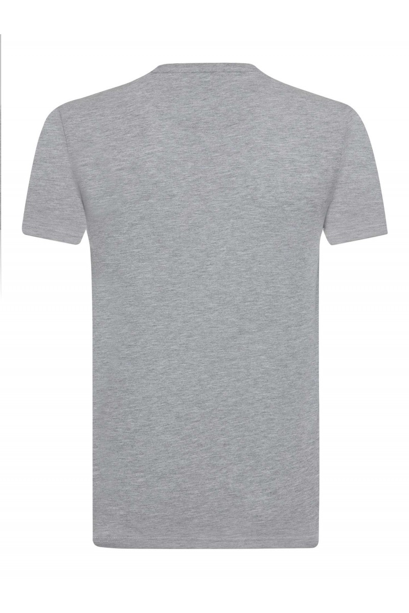 Herren T-Shirt GRAU MELANGE