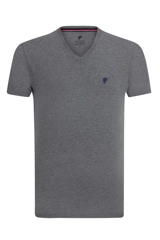 Herren T-Shirt ANTHRASIT MEL.