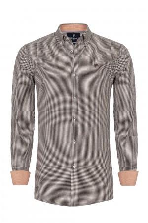 Herren Shirt BRAUN