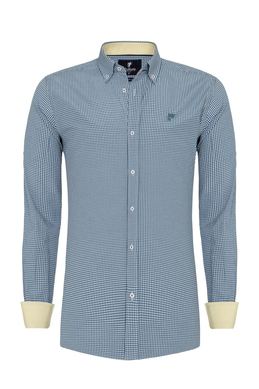 Herren Shirt PETROL