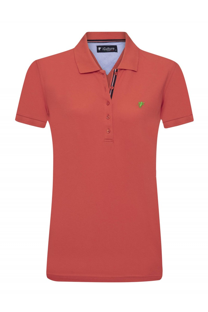Damen Polo Shirt GRANATAPFEL