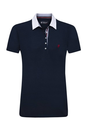 Damen Polo Shirt NAVY