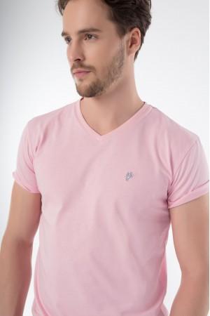 Herren T-Shirt PINK