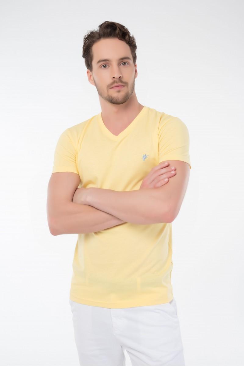 Herren T-Shirt GELB
