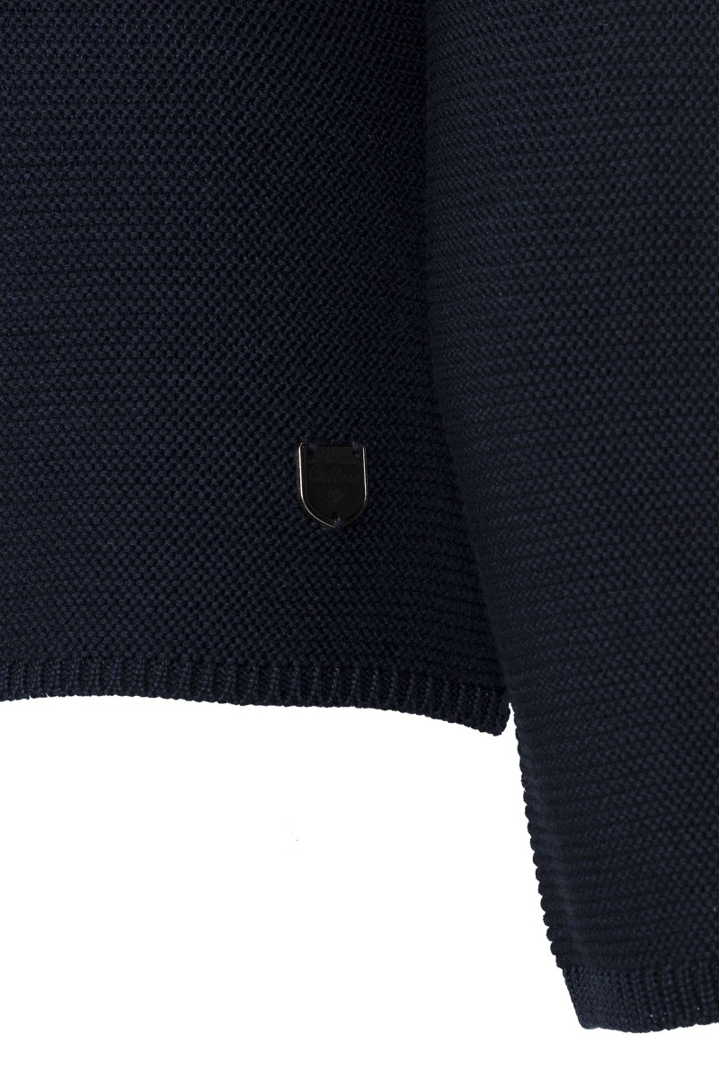 Damen Links pullover NAVY