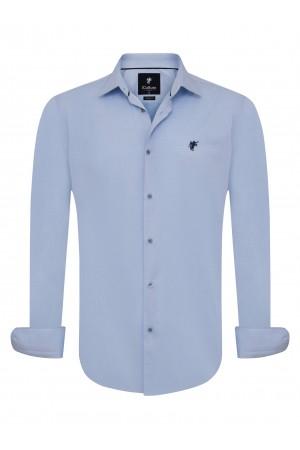 Herren Hemden Blau
