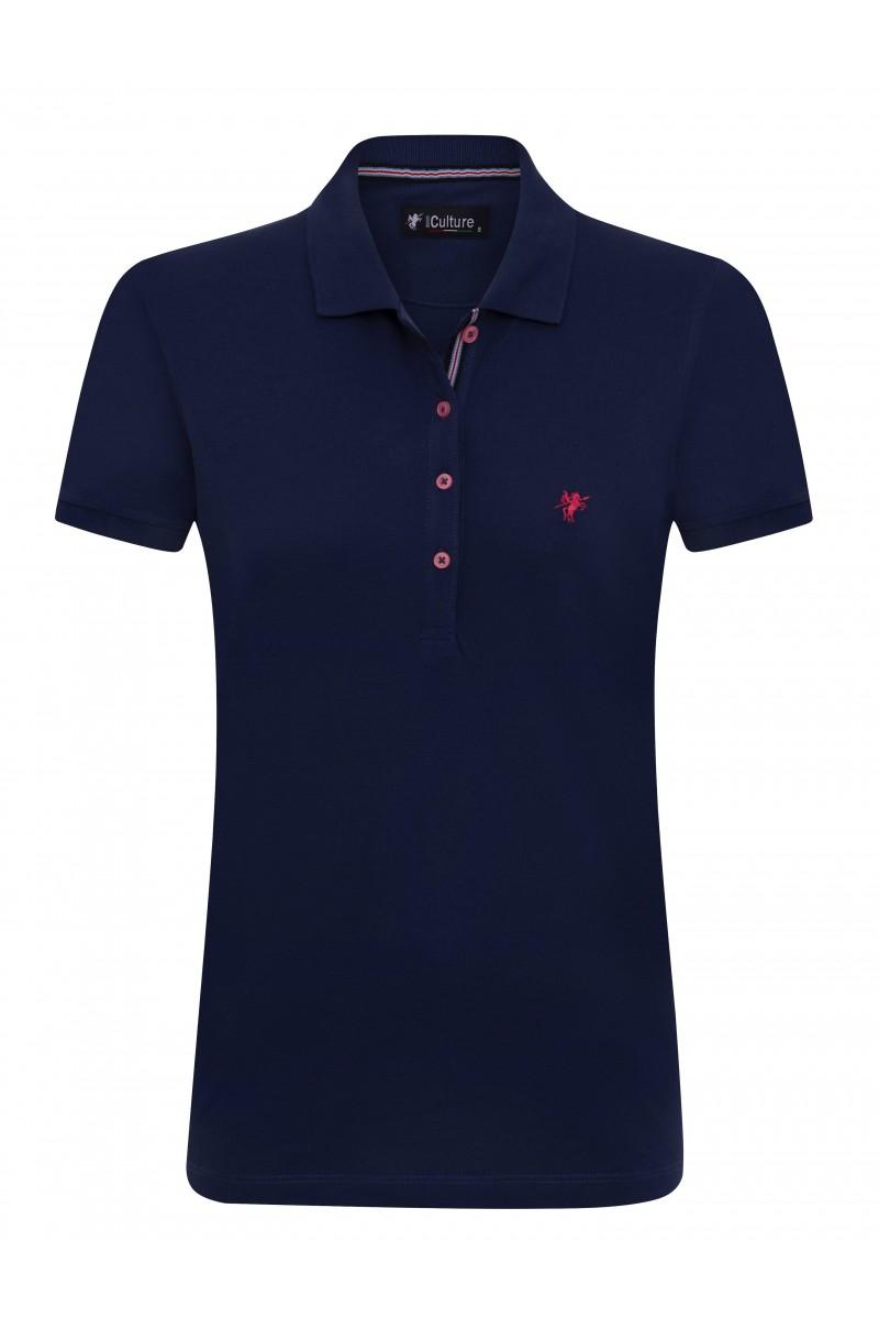 NAVY Baumwoll Poloshirt für Damen
