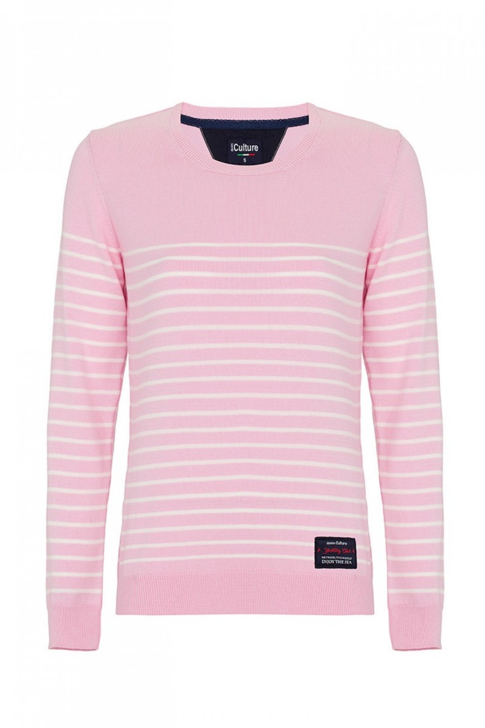 Women's Pullover  Crew Neck Powder Cotton