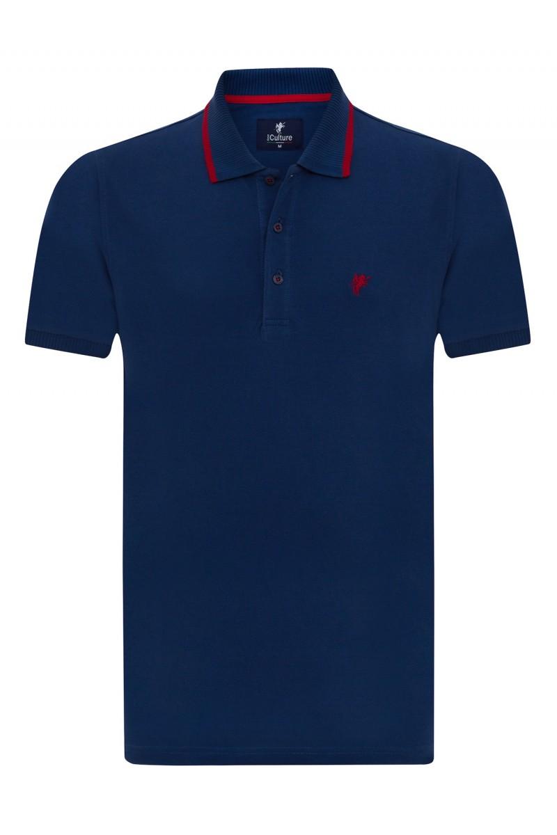 MARINE Baumwoll Poloshirt für Herren