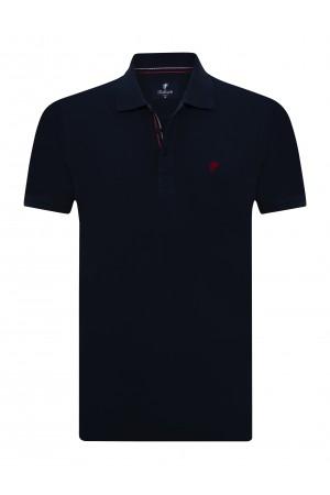 NAVY Baumwoll Poloshirt für Herren