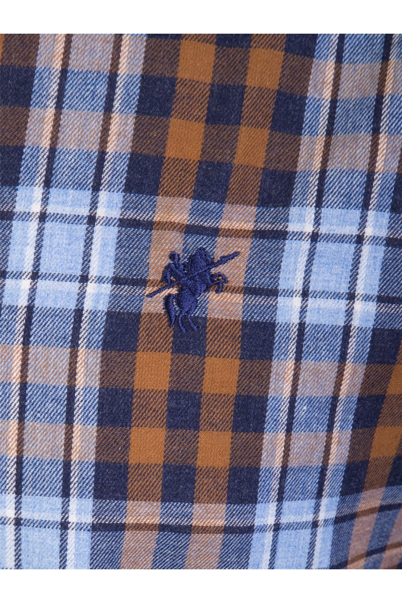 Herren Hemd Button Down Langarm SENF